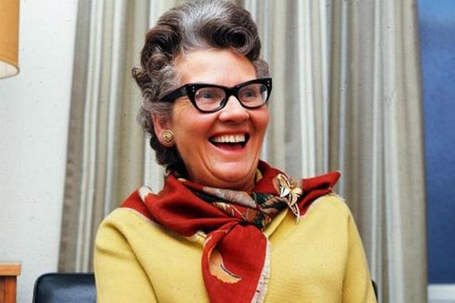 Mary Whitehouse, self-styled guardian of British morals